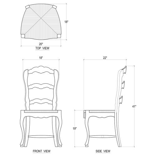 Provincial Dining Chair - WHD