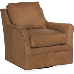 Bradington Young Amor Swivel Chair 8-Way Hand Tie 433-25SW