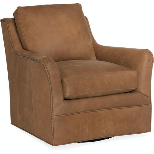 Bradington Young Amor Swivel Chair 8-Way Hand Tie 433-25SW