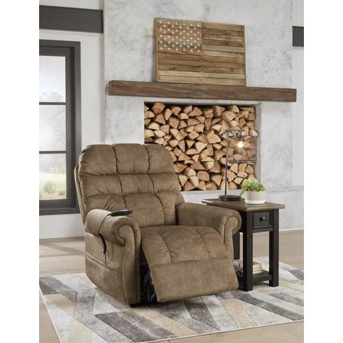 Signature Design By Ashley - Mopton Power Lift Recliner