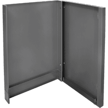 OASIS Enclosure Kit for Fridge - End of Run , Grey