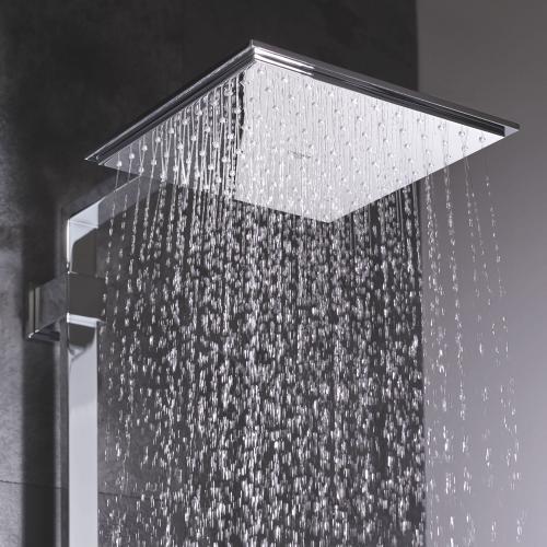 Euphoria Cube Shower Head - 1 Spray, 2.5 Gpm