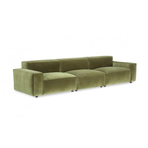Bobby Berk Olafur 3pc Modular Loveseat Sectional