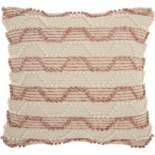"Life Styles Dc430 Blush 20"" X 20"" Throw Pillow"