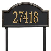 Providence Arch - Estate Lawn - One Line - Black/Gold