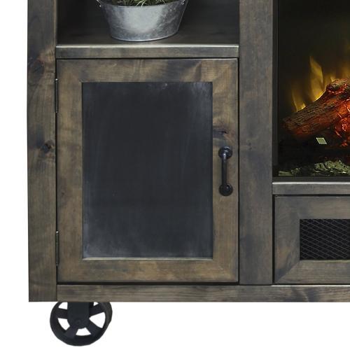 "Cargo 62"" Fireplace Console"