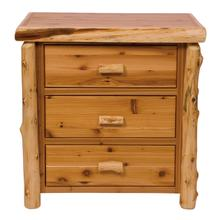 Three Drawer Chest - Natural Cedar - Value