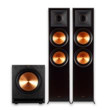 See Details - RP-8000F + SPL-120 Subwoofer 2.1 Home Theater System - Ebony