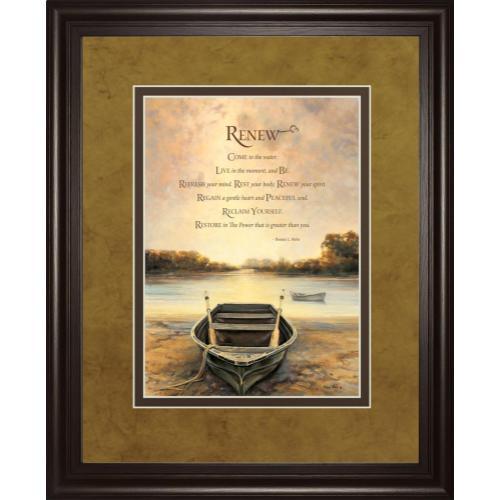 """Gallery - """"Renew"""" By Bonnie Mohr Framed Print Wall Art"""