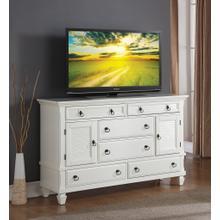Regitina 016 White Bedroom Dresser