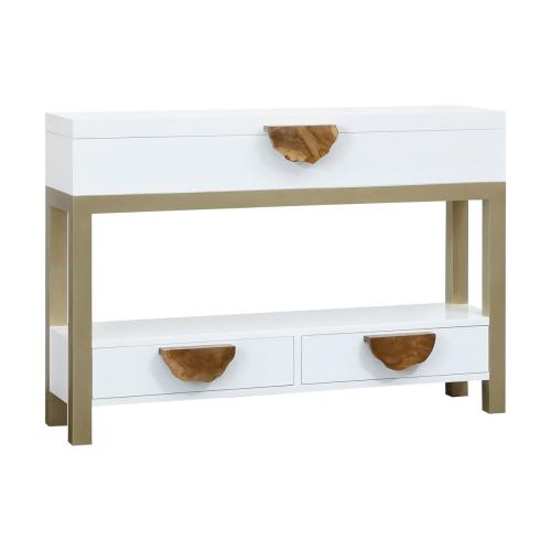 Slice 3-drawer Console Table