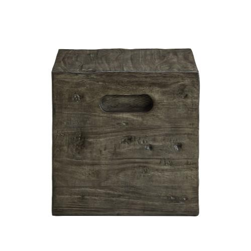 Square Crate, Grey