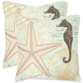 Lauren Pillow - Seafoam Green