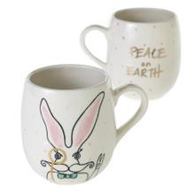 """5""""x 3.5""""x 4.25"""" E+E Peace + Love Collection (Eric Mug Option)"""