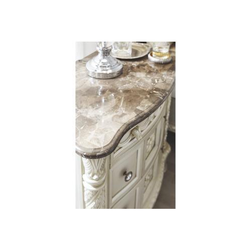 Cassimore Dresser Pearl Silver