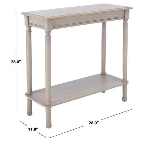 Safavieh - Tinsley Rectangular Console Table - Greige