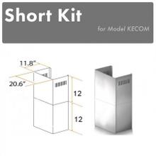 "ZLINE 2-12"" Short Chimney Pieces for 7 ft. to 8 ft. Ceilings (SK-KECOM)"