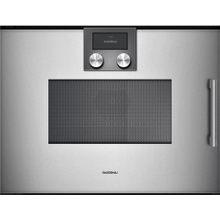 200 Series Combi-microwave Oven 24'' Door Hinge: Left, Door Hinge: Left, Gaggenau Metallic