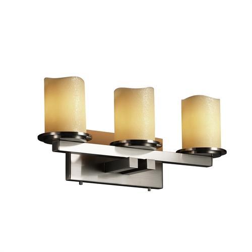 Dakota 3-Light Straight-Bar Bath Bar