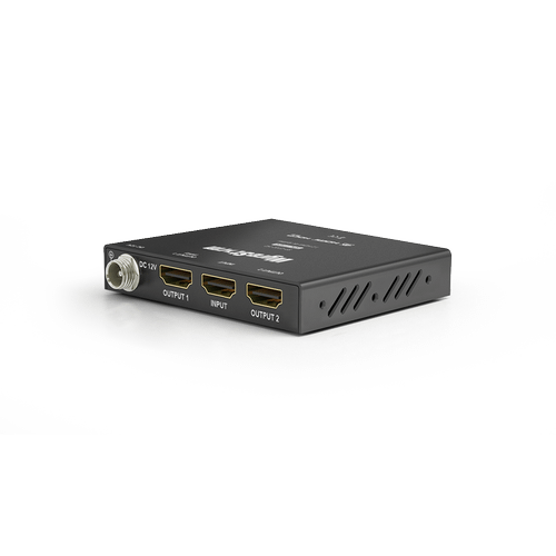 1:2 4K HDR HDMI Splitter with HDCP 2.2 and Auto EDID management