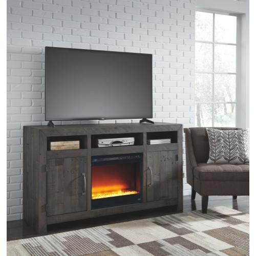 Mayflyn Large TV Stand With Fireplace
