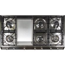 48 Inch Stainless Steel Liquid Propane Cooktop
