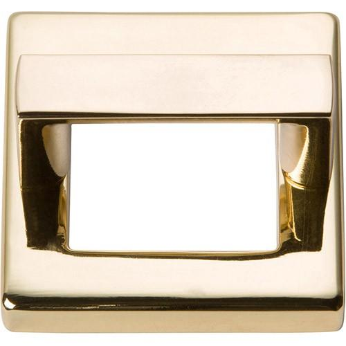 Tableau Square Base and Top 1 7/16 Inch (c-c) - French Gold