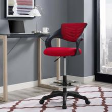 Thrive Mesh Drafting Chair in Red