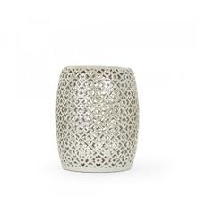 Lorin Garden Stool Grey