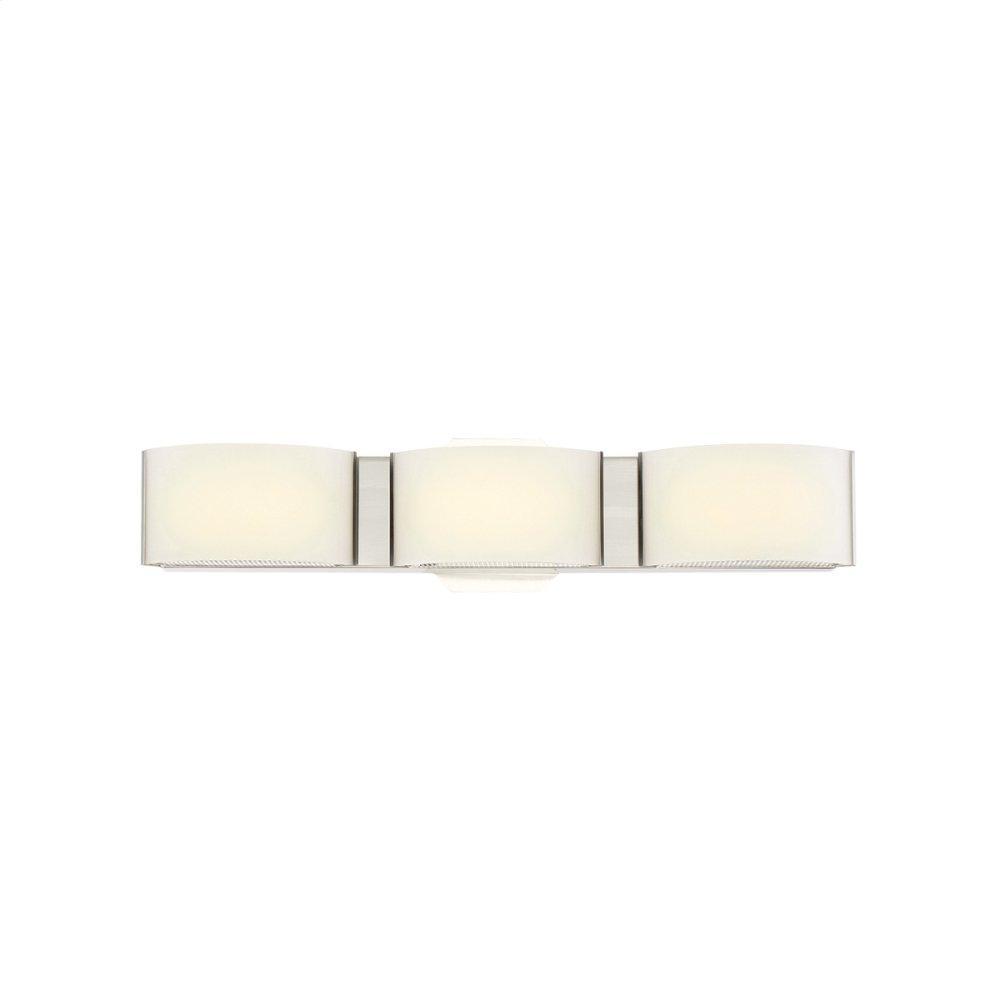 """See Details - 20"""" VANITY LIGHT - Satin Nickel"""