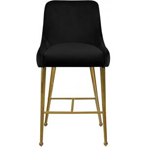 "Owen Velvet Counter Stool - 23"" W x 21"" D x 40"" H"