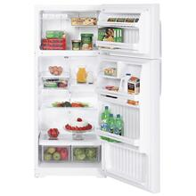 GE® 17.9 Cu. Ft. Top-Freezer Refrigerator (This is a Stock Photo, actual unit (s) appearance may contain cosmetic blemishes.  Please call store if you would like actual pictures).  This unit carries our 6 month warranty, MANUFACTURER WARRANTY and REBATE NOT VALID with this item. ISI 40004