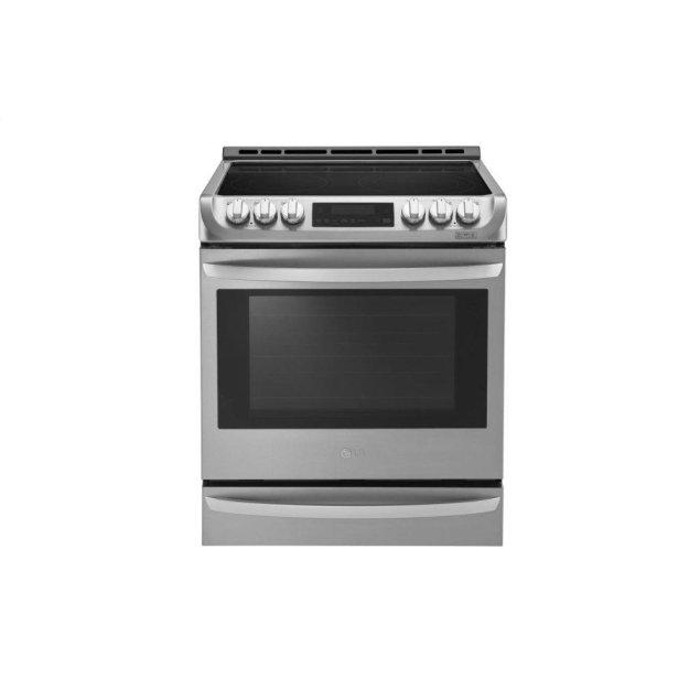 LG Appliances 6.3 cu. ft. Electric Slide-in Range with ProBake Convection® and EasyClean®