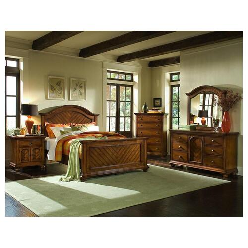 BP450KHC Brook Chestnut Headboard