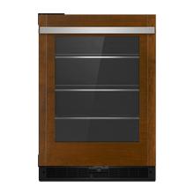 "Panel-Ready 24"" Under Counter Glass Door Refrigerator, Right Swing"