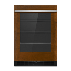 "Panel-Ready 24"" Under Counter Glass Door Refrigerator, Right Swing"