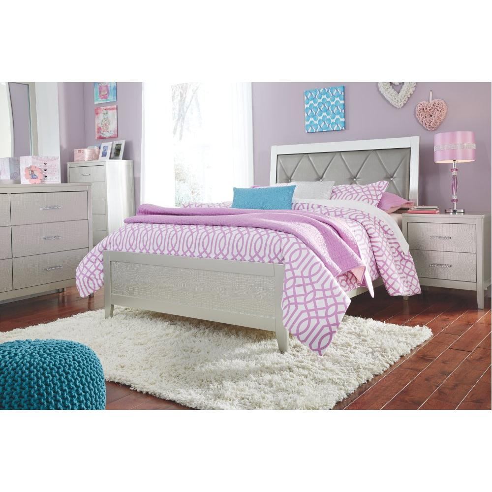 Olivet Full Panel Bed