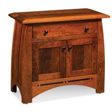 See Details - Aspen 2-Door Cabinet with Inlay