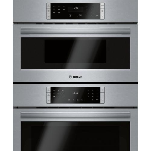 Bosch Canada - 800 Series Combination Oven 30'' Stainless steel HBL87M53UC