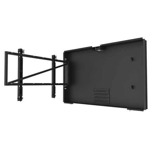 In-Wall Kiosk Enclosures (Landscape) - Black / 43