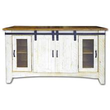 Barn Door TV Stand