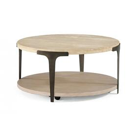 Omni Round Coffee Table with Casters