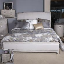 Queen Uph Bed, Dresser & Mirror, N/S