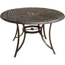 "Traditions 48"" Round Cast Top Table"