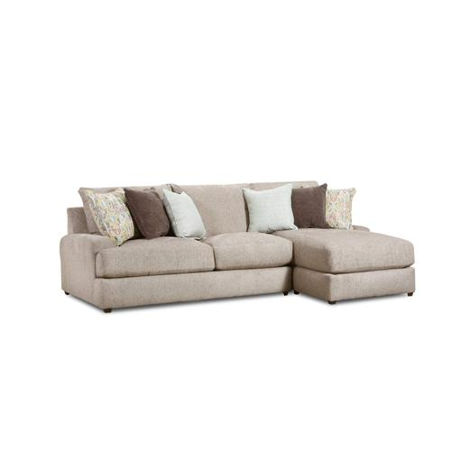 9982 McMillian Two Piece Sectional with Chaise