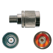 Connector N-Male to F-Female