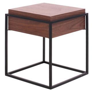 Kali End Table, Walnut