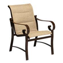 See Details - Belden Padded Sling Dining Armchair