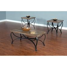 See Details - Drift Wood 3-pc Occasional Table Set