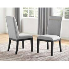 Yves Performance Side Chair, Grey